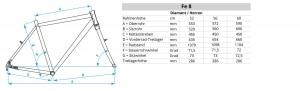 Geometriedaten Fe-8