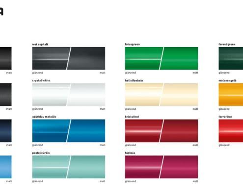 Ausstattungsoption Farben